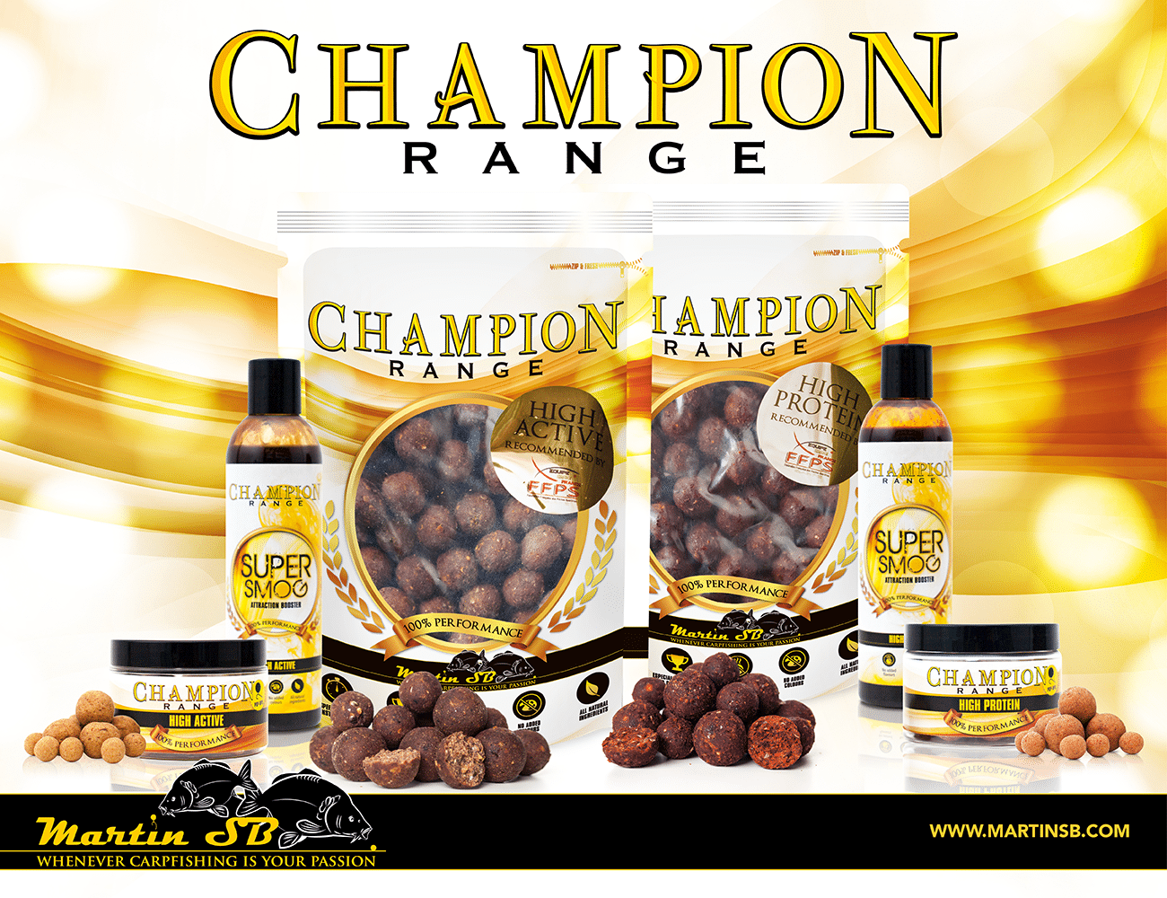 Champion Range – High Protein