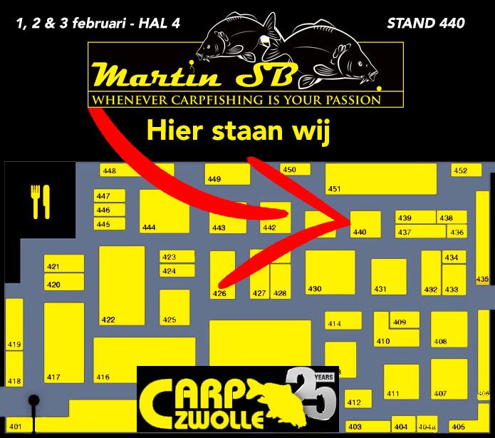 Martin SB - Carp Zwolle 2019 - plattegrond