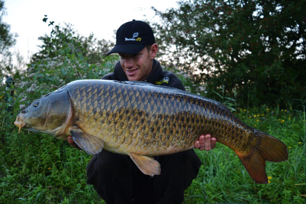 Martin SB - Basic Range -Team member Jasper Smit heeft al schitterende vissen gevangen 'gewoon' met Basic Range!