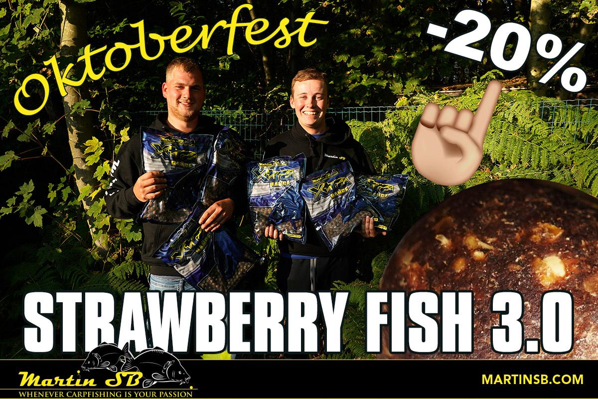 Strawberry Fish 3.0 tot 14 november 20% korting